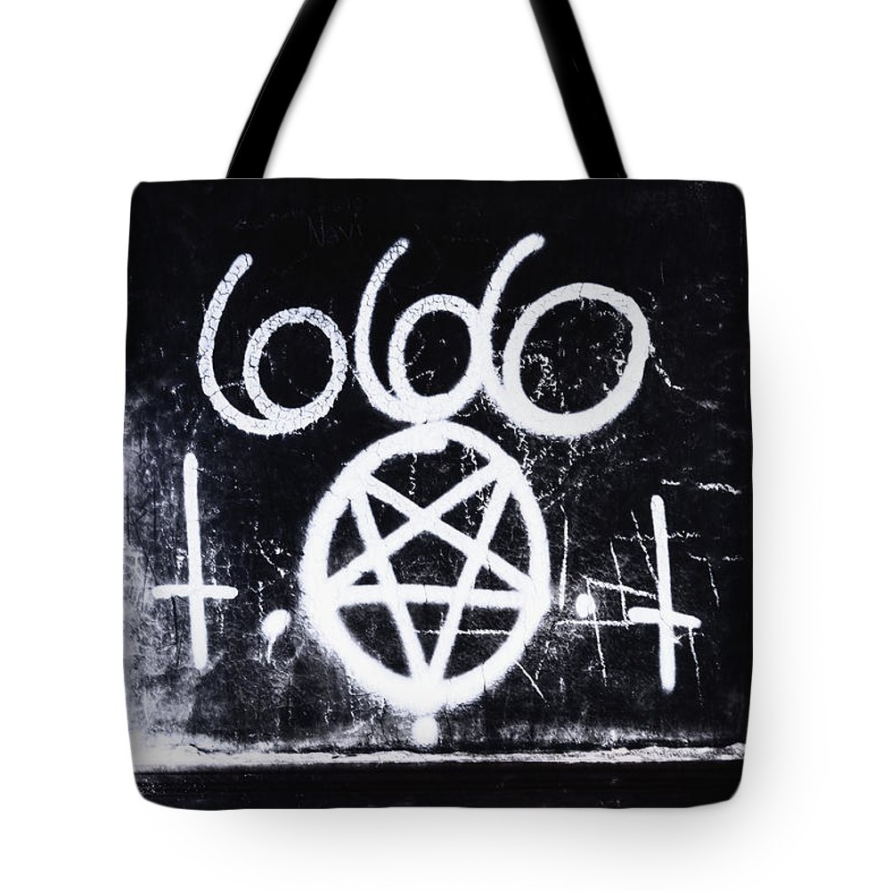 666 Tote Bag featuring the photograph Evil by Margie Hurwich
