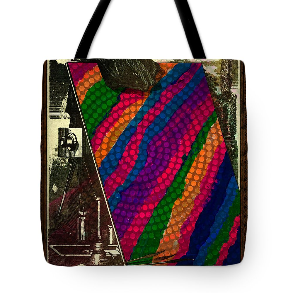 Art Tote Bag featuring the digital art Evolution Of Art by Terry Fleckney
