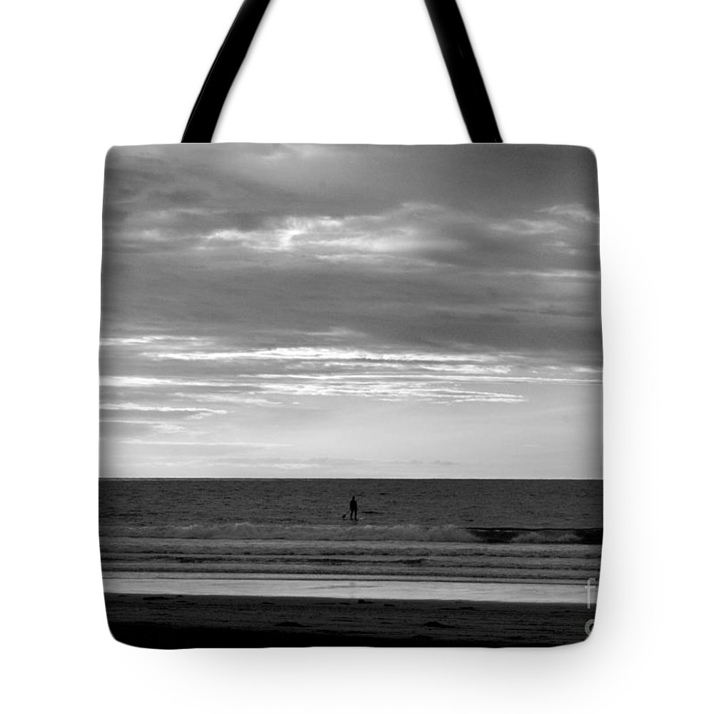 La Jolla Tote Bag featuring the photograph Existential Contemplation by Samantha Glaze