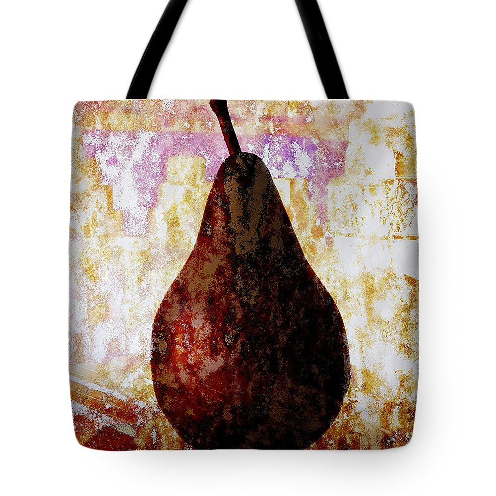 Pear Tote Bag featuring the photograph Exotic Pear by Carol Leigh