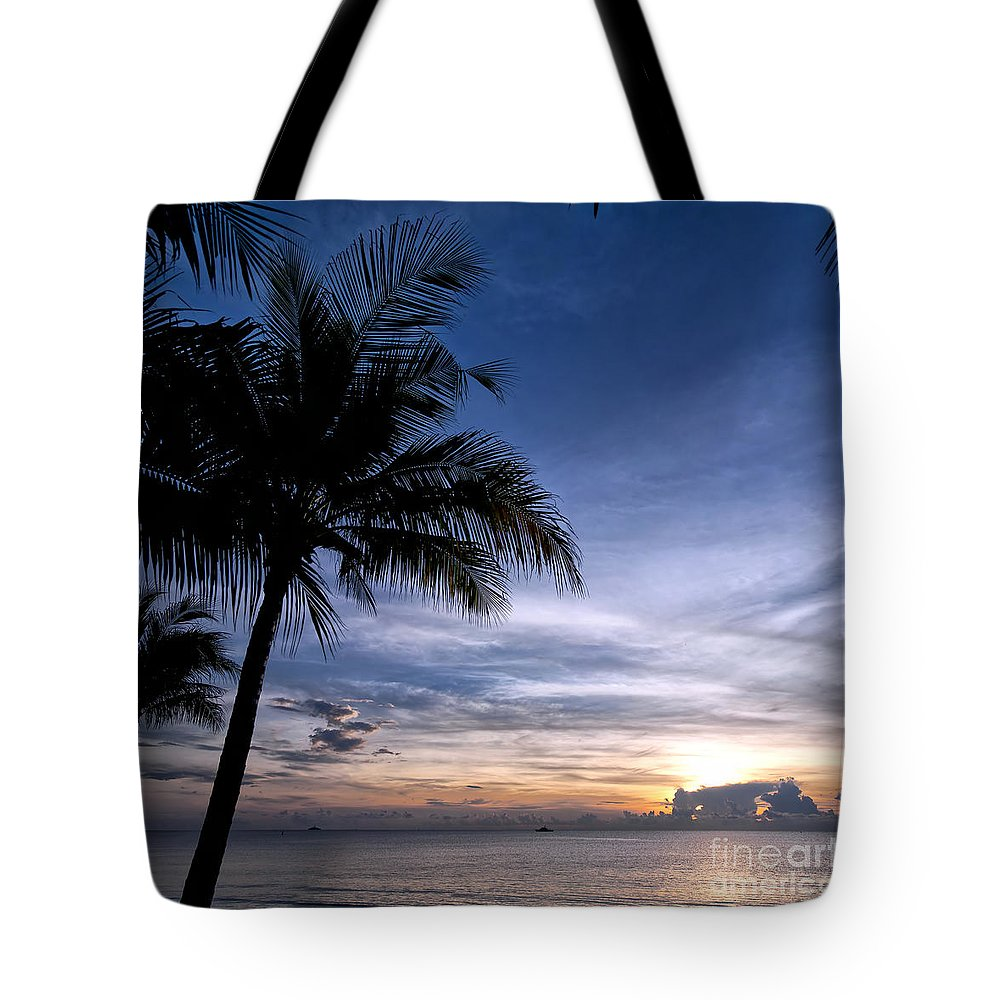 Thailand Tote Bag featuring the photograph Exotic Sunrise 02 by Antony McAulay