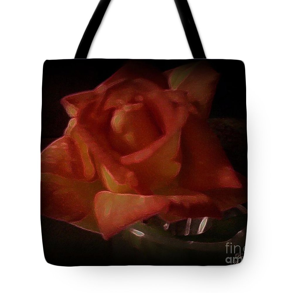 Rose Tote Bag featuring the photograph Exquisitely Lovely by Bobbee Rickard