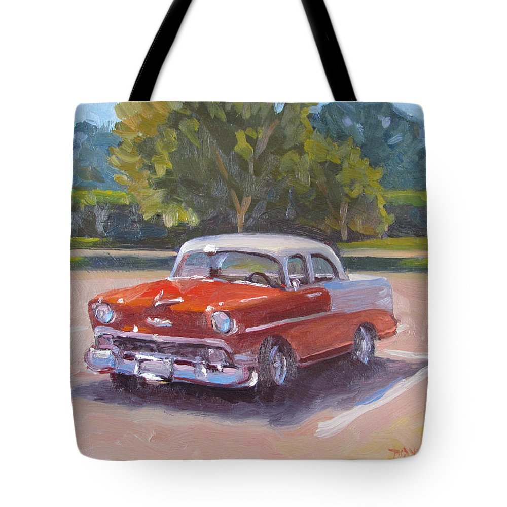 Car Tote Bag featuring the painting Eye Candy by Dianne Panarelli Miller