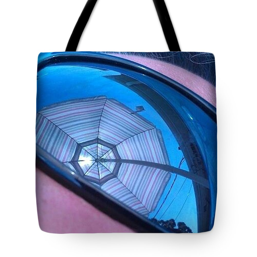 Sunglasses Tote Bag featuring the photograph Eye On Summer by Deborah Lacoste