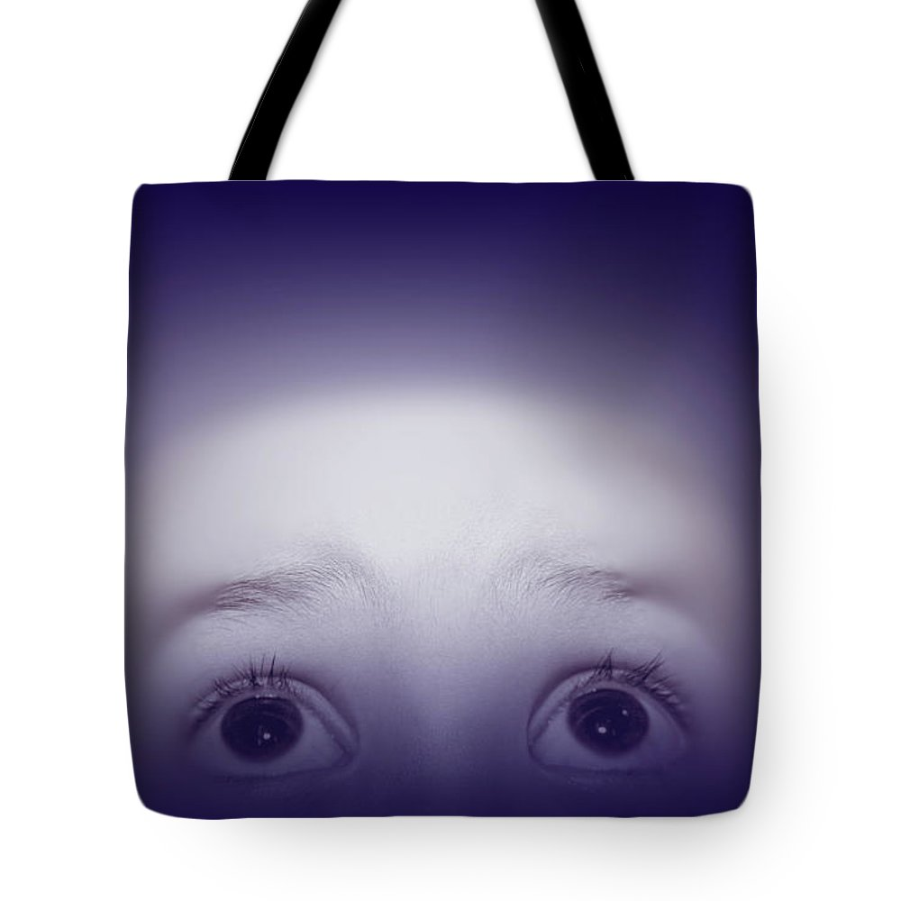Eyes Tote Bag featuring the photograph Eyes by Lali Kacharava