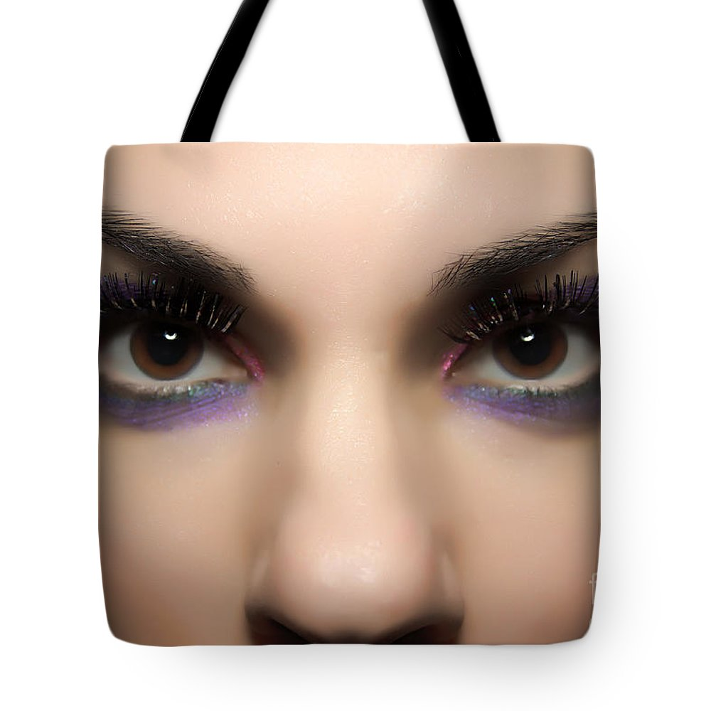 Eyes Tote Bag featuring the photograph Eyes Of The Beholder by Rick Kuperberg Sr