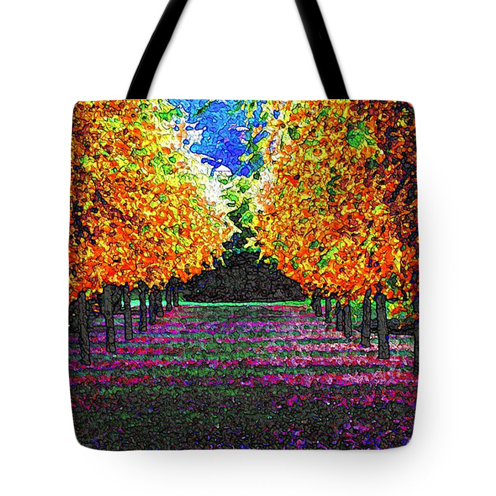 Impressionism Tote Bag featuring the digital art Eyes Rest by Ha Imako