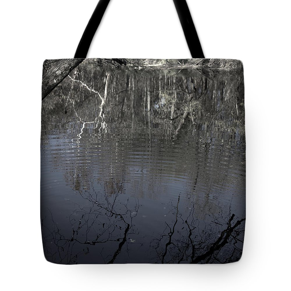Fade To Black Tote Bag featuring the photograph Fade To Black by Edward Smith