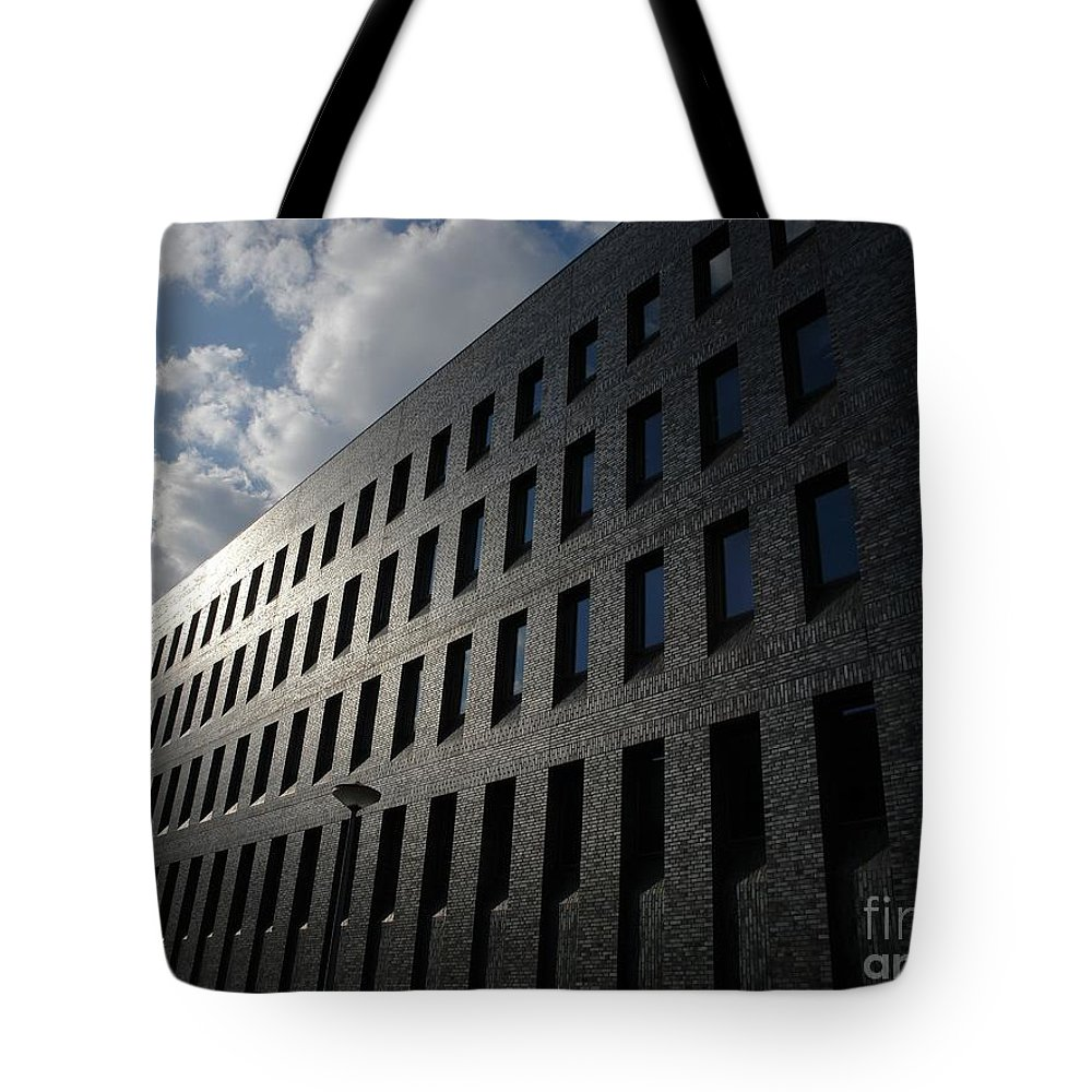Blue Tote Bag featuring the photograph Fade To Gray by Brothers Beerens