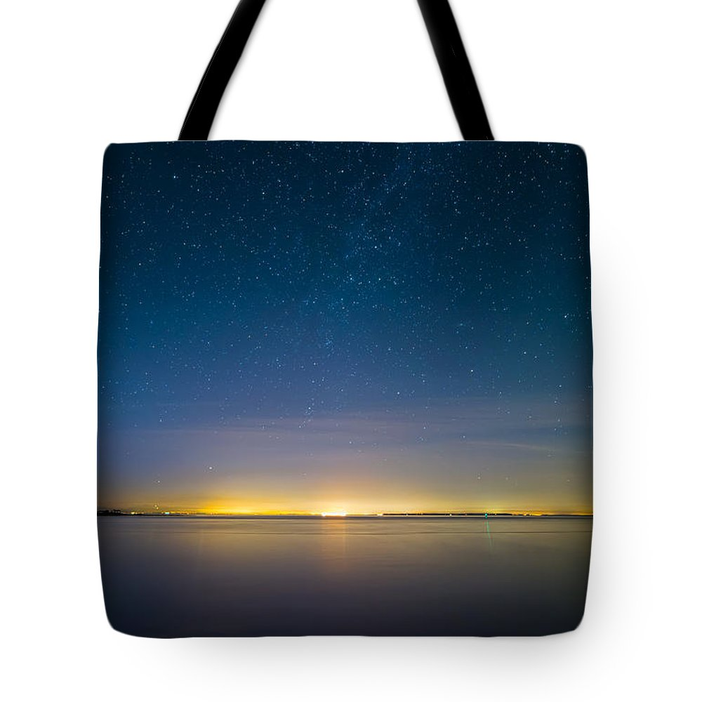 Amazing Tote Bag featuring the photograph Faint Milky Way by James Wheeler