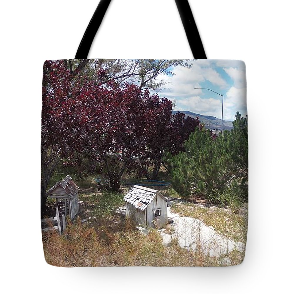 House Tote Bag featuring the photograph Fairies House by Bobbee Rickard