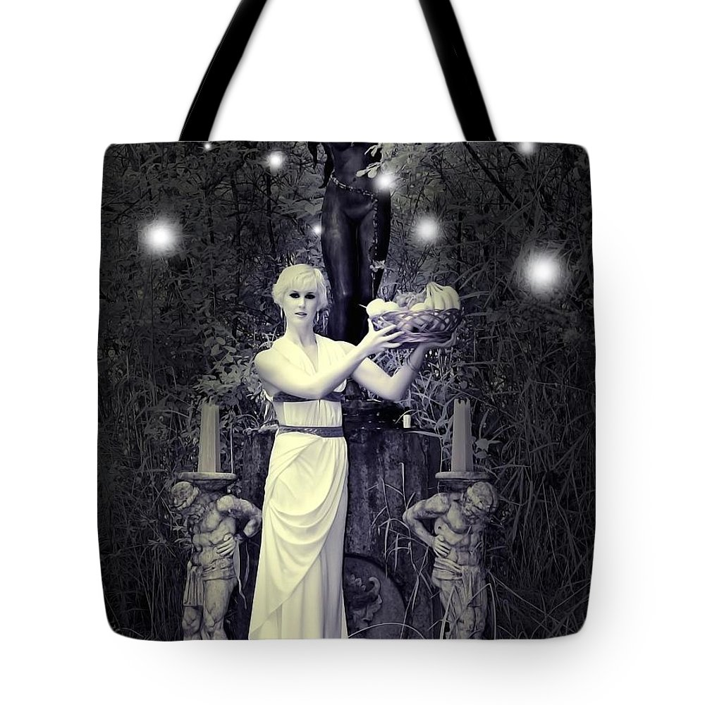 Sexy Tote Bag featuring the photograph Fairy Forest by Jon Volden