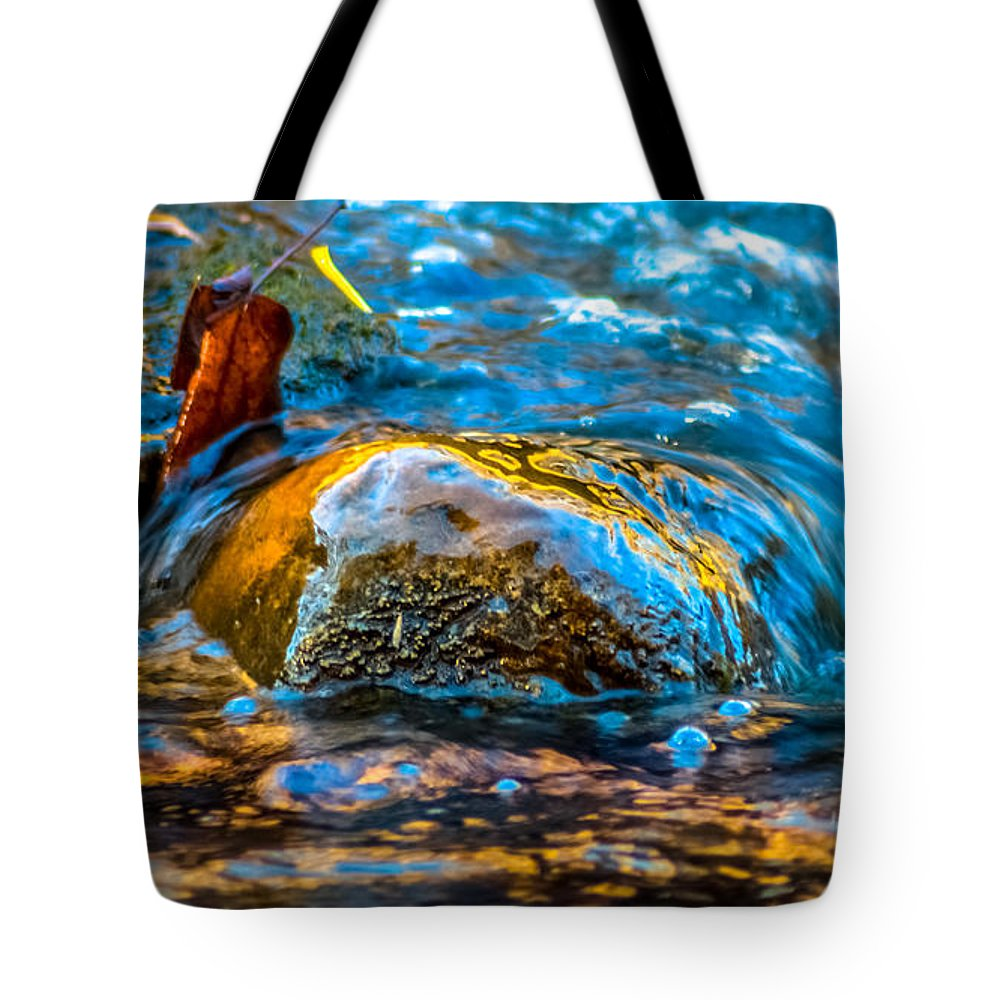 Optical Playground By Mp Ray Tote Bag featuring the photograph Fairy Tale Waters by Optical Playground By MP Ray