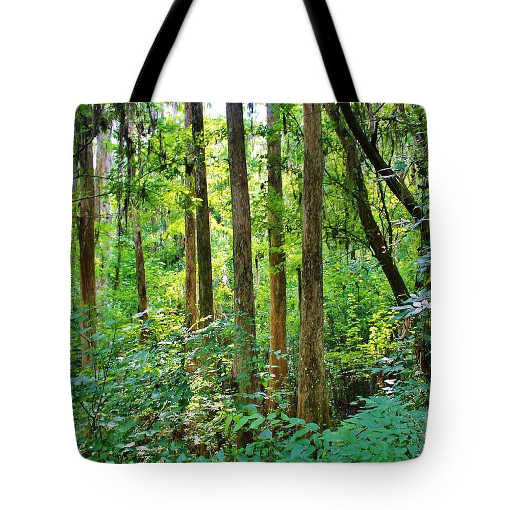 Kerisart Tote Bag featuring the photograph Fairy Trees by Keri West