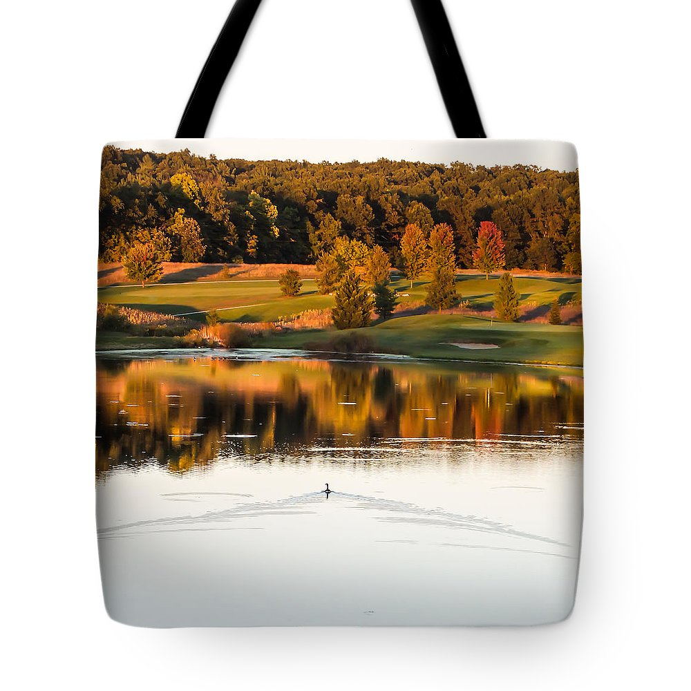 Fall Tote Bag featuring the photograph Fall Colors by Becky Bunting
