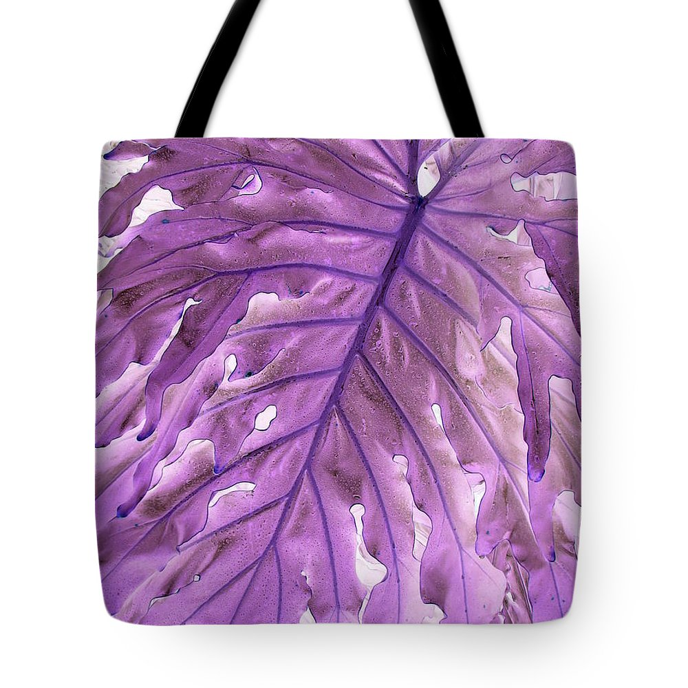 Fan Tote Bag featuring the photograph Fan Inversion by Priscilla Richardson