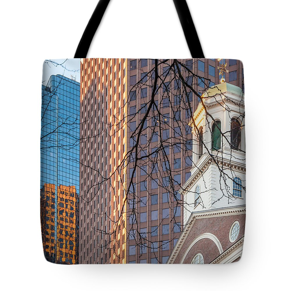 America Tote Bag featuring the photograph Faneuil Hall Cupola by Susan Cole Kelly