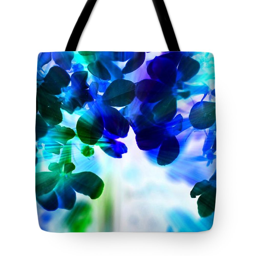 Beautiful Tote Bag featuring the photograph Fantasy Florals by Denise Tomasura