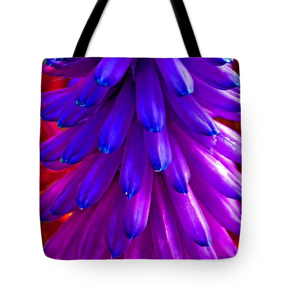 Duane Mccullough Tote Bag featuring the photograph Fantasy Flower 5 by Duane McCullough