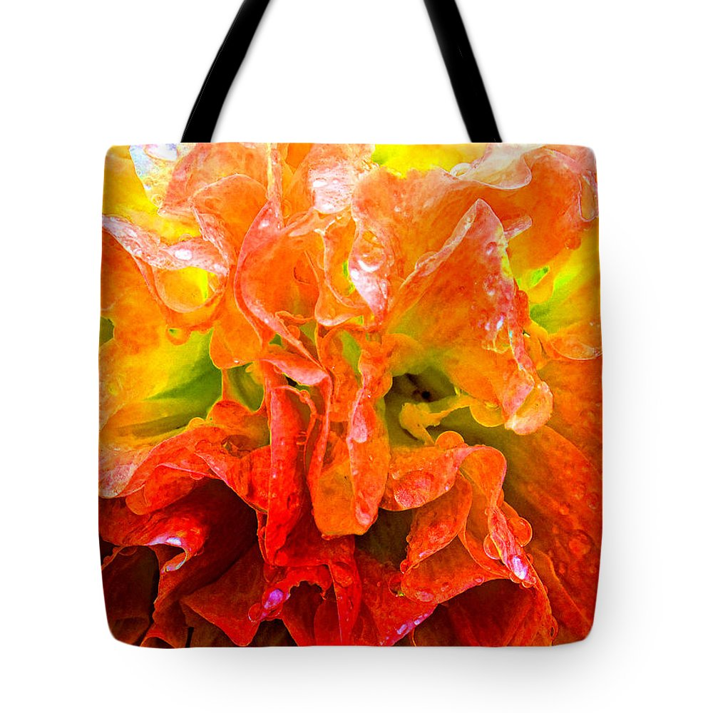 Duane Mccullough Tote Bag featuring the photograph Fantasy Flower 7 by Duane McCullough