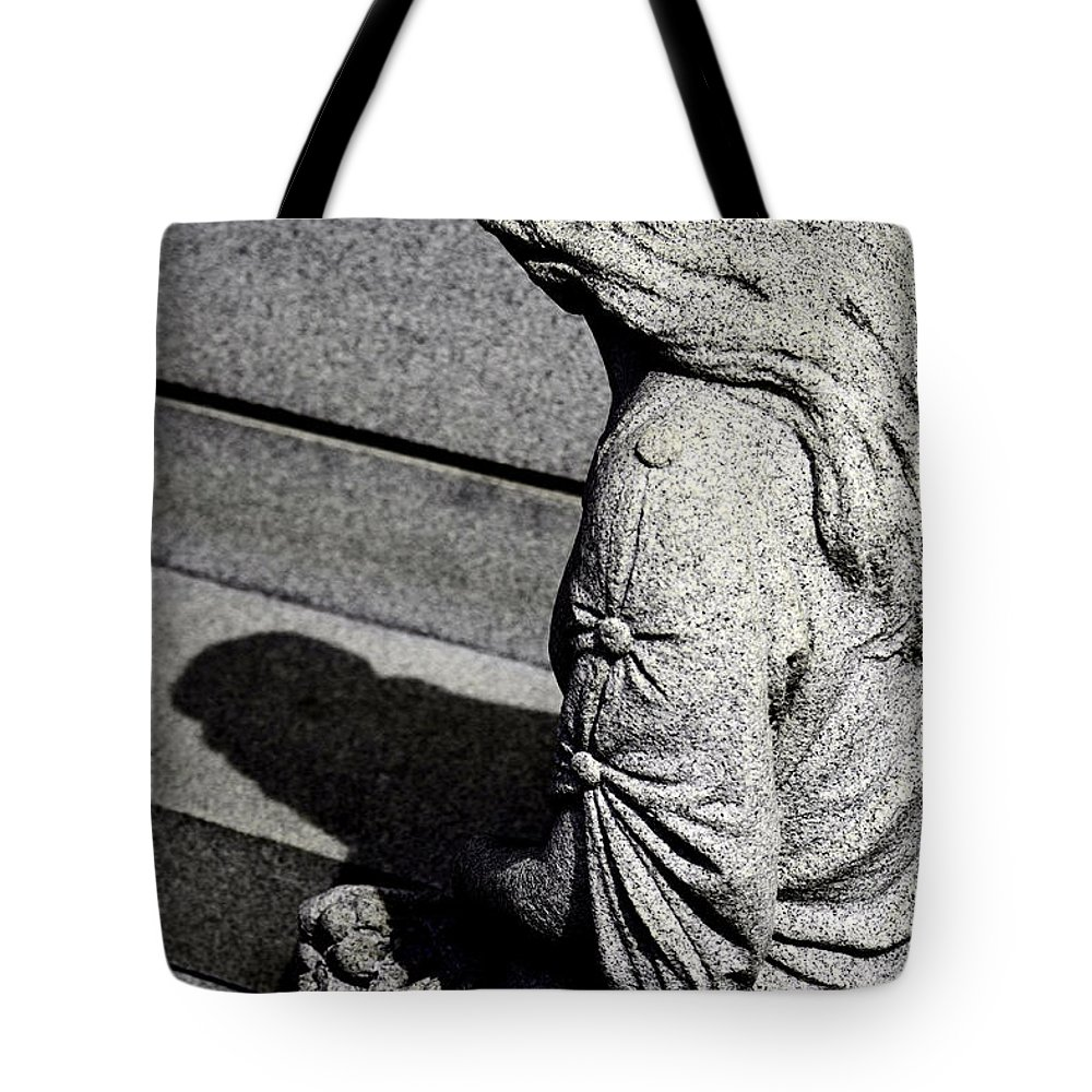 Stone Tote Bag featuring the photograph Farewell My Love by John Flack