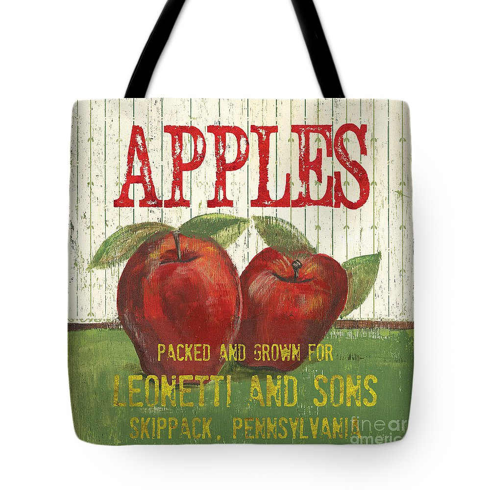Apple Tote Bags