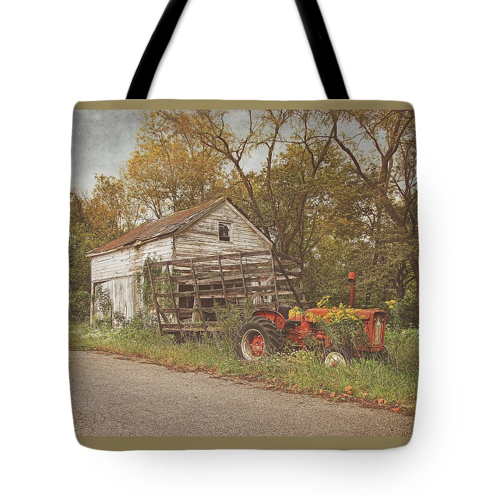 Farms Tote Bag featuring the photograph Farm Still Life by Pat Abbott