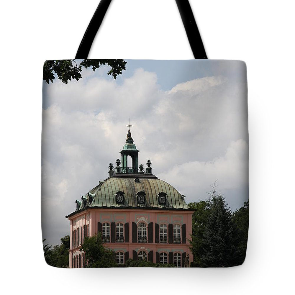 Palace Tote Bag featuring the photograph Fasanen Schloesschen Germany  Pheasant Palace by Christiane Schulze Art And Photography