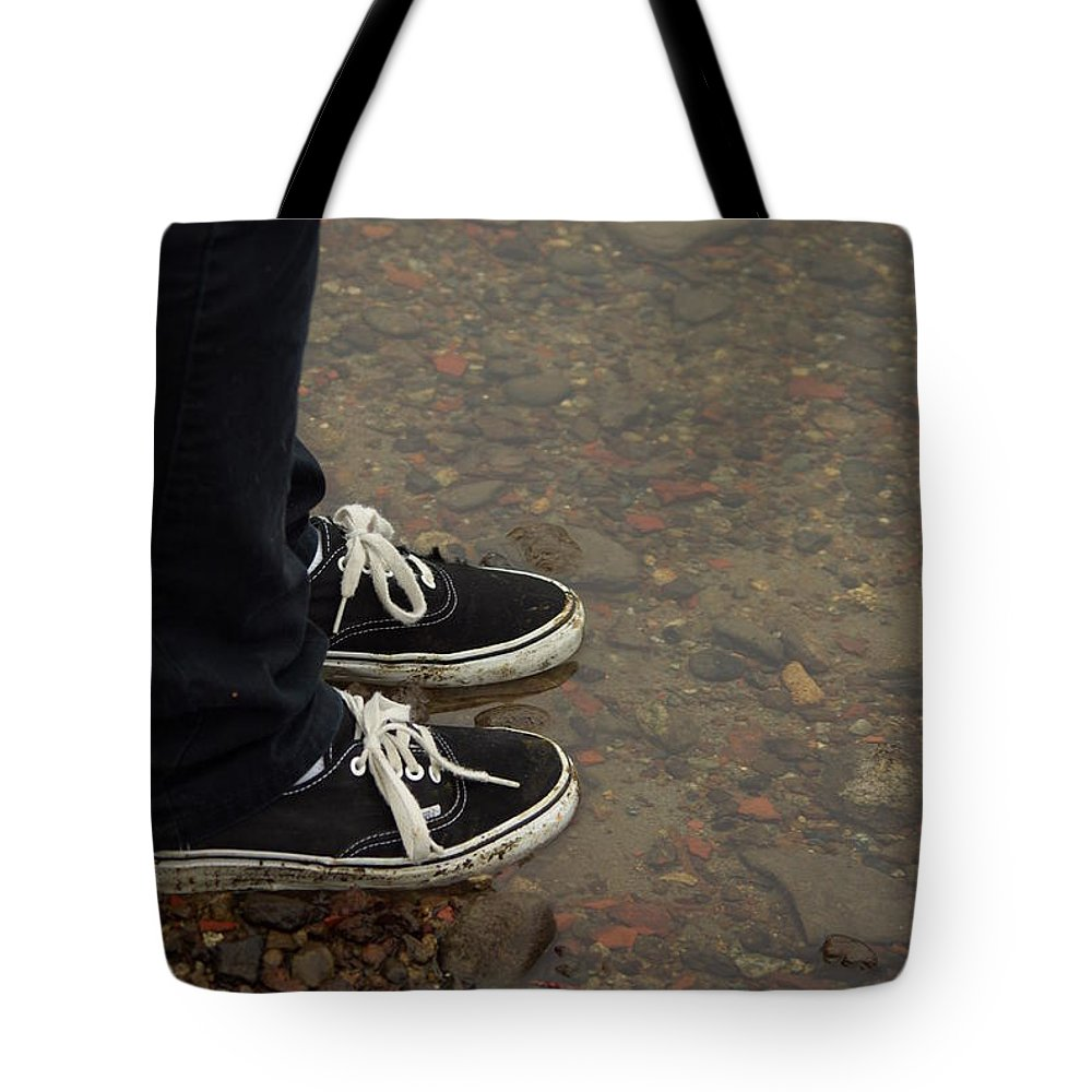Fashion Tote Bag featuring the photograph Fashion Meets Nature by Cindy Johnston