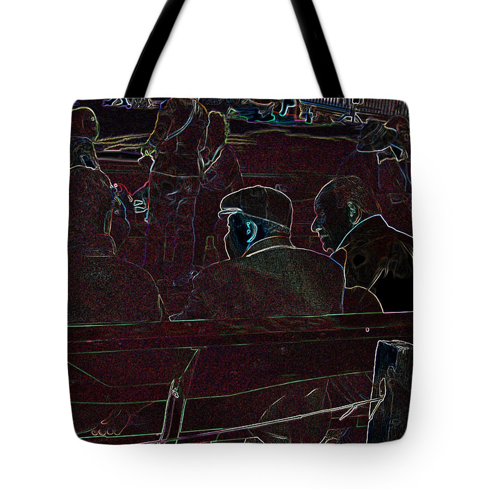 Friends Tote Bag featuring the photograph Fast Friends by Suzanne Gaff