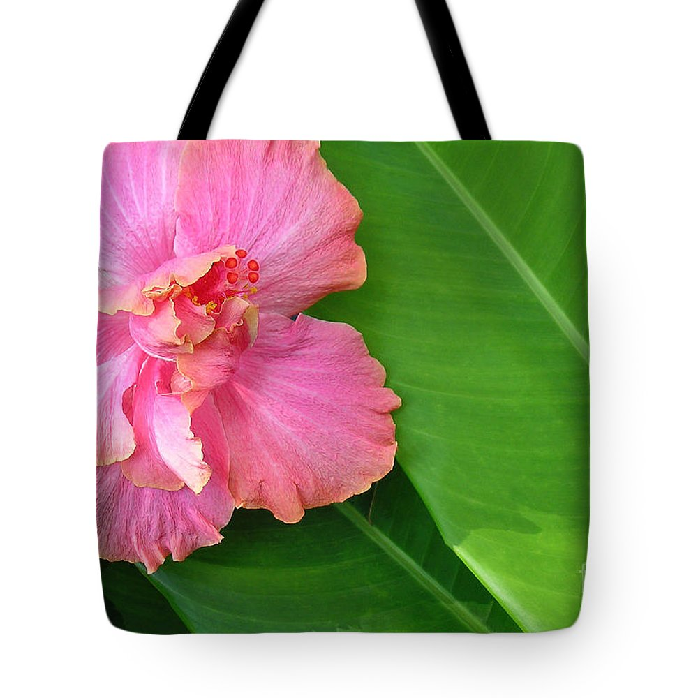 Hawaii Iphone Cases Tote Bag featuring the photograph Favorite Flower 2 by James Temple