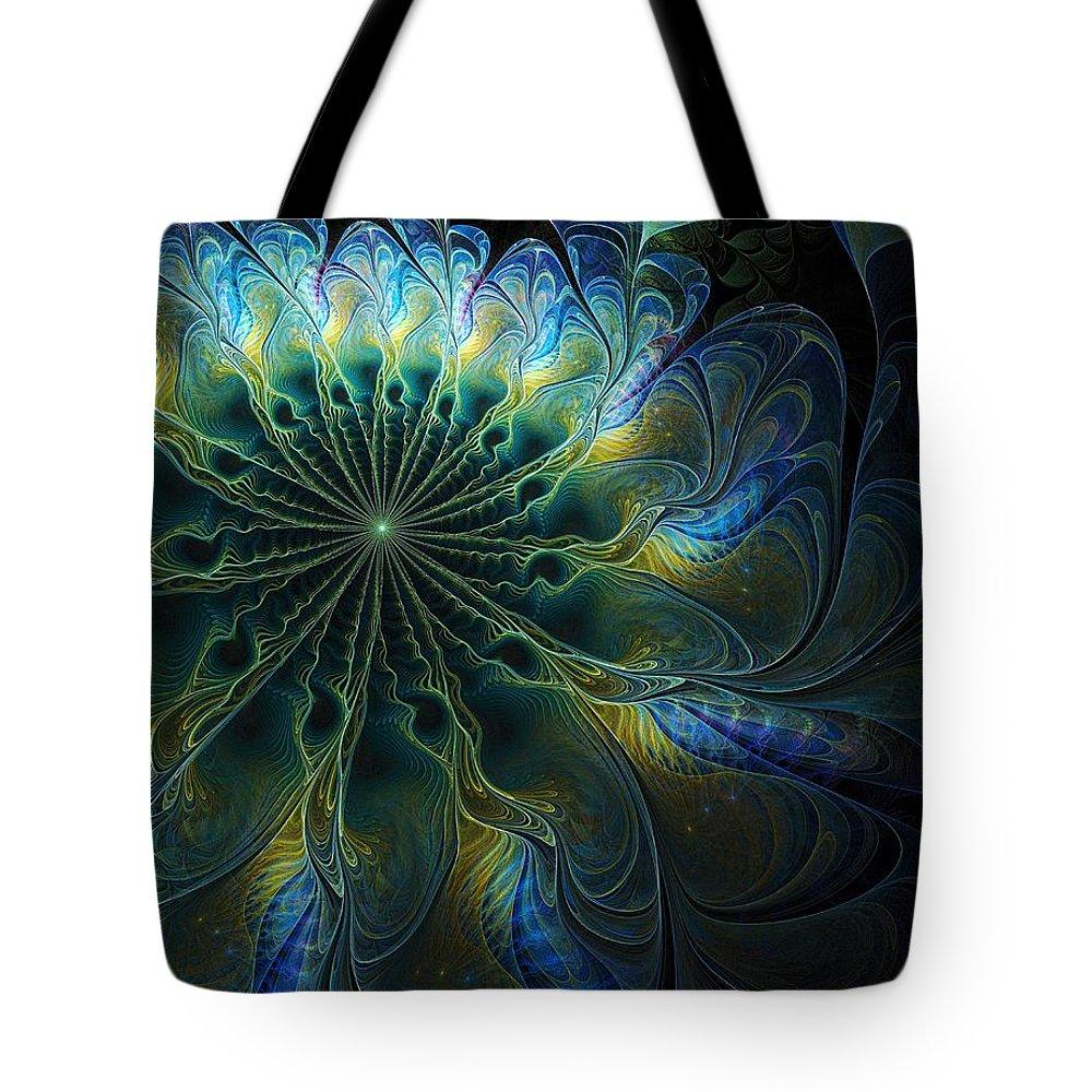 Digital Art Tote Bag featuring the digital art Feathered by Amanda Moore