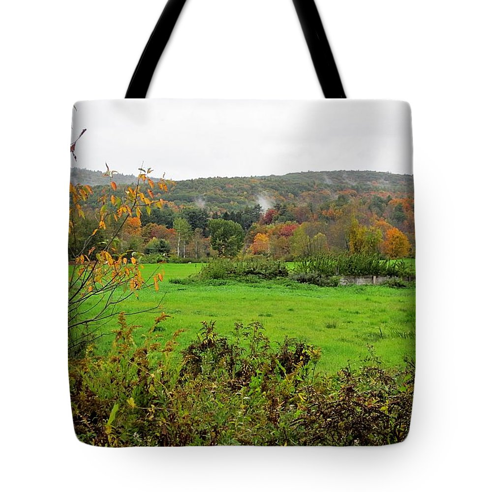 Field Tote Bag featuring the photograph Field Of Green by MTBobbins Photography