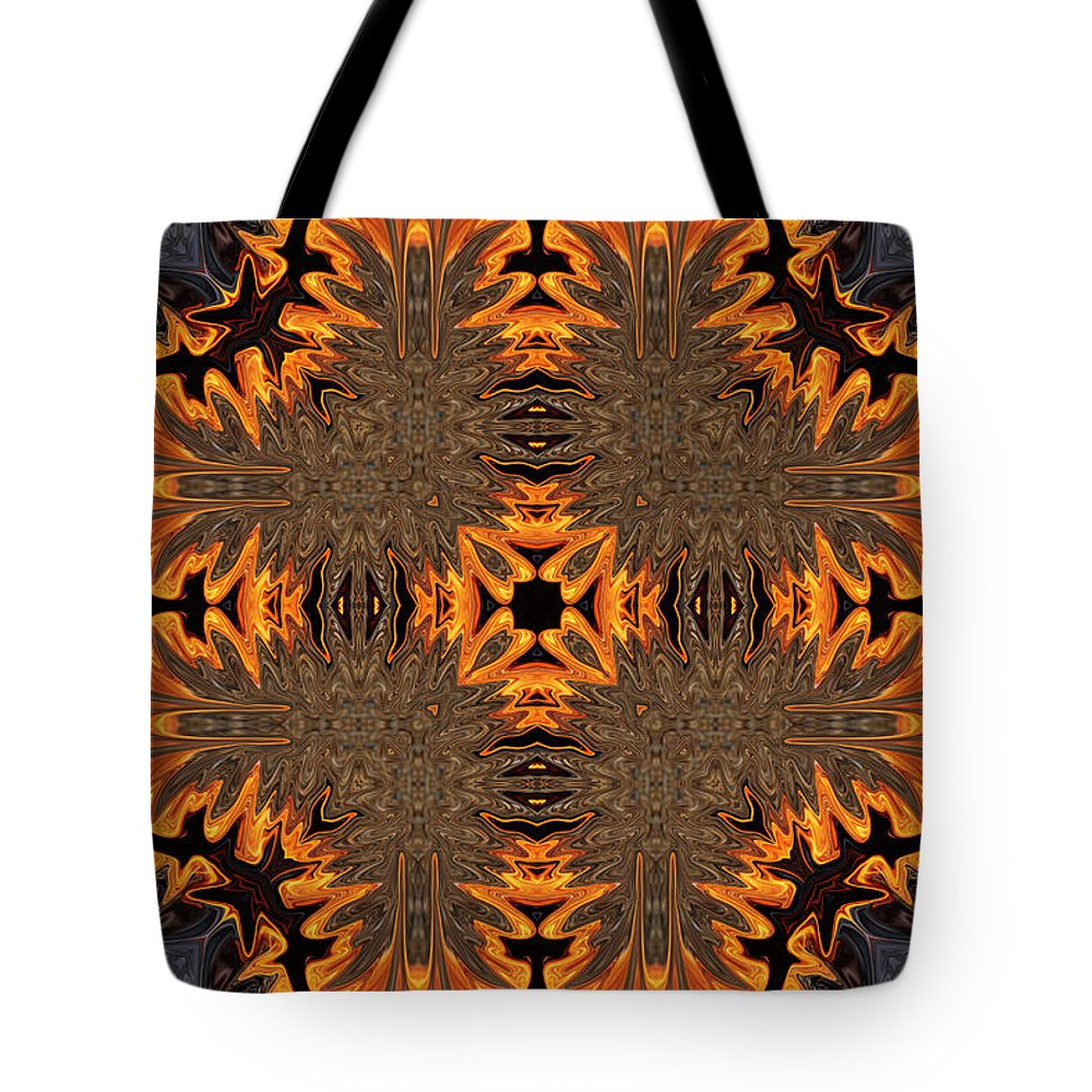 Orange Tote Bag featuring the photograph Fiery Bats by Brenda Hackett