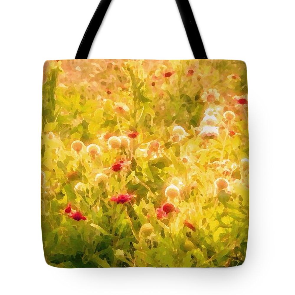 Wildflowers Tote Bag featuring the photograph Fiesta by Debbie Summers