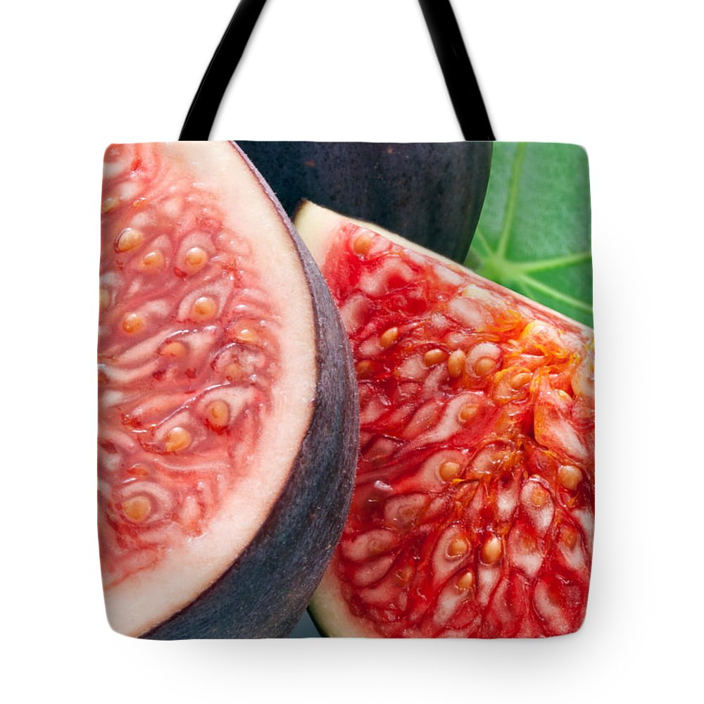Figs Tote Bag featuring the photograph Figs by Munir Alawi