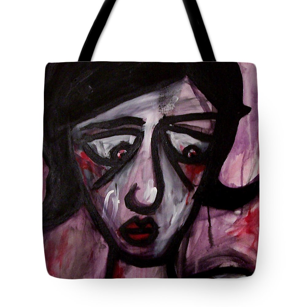 Portait Tote Bag featuring the painting Finals by Thomas Valentine