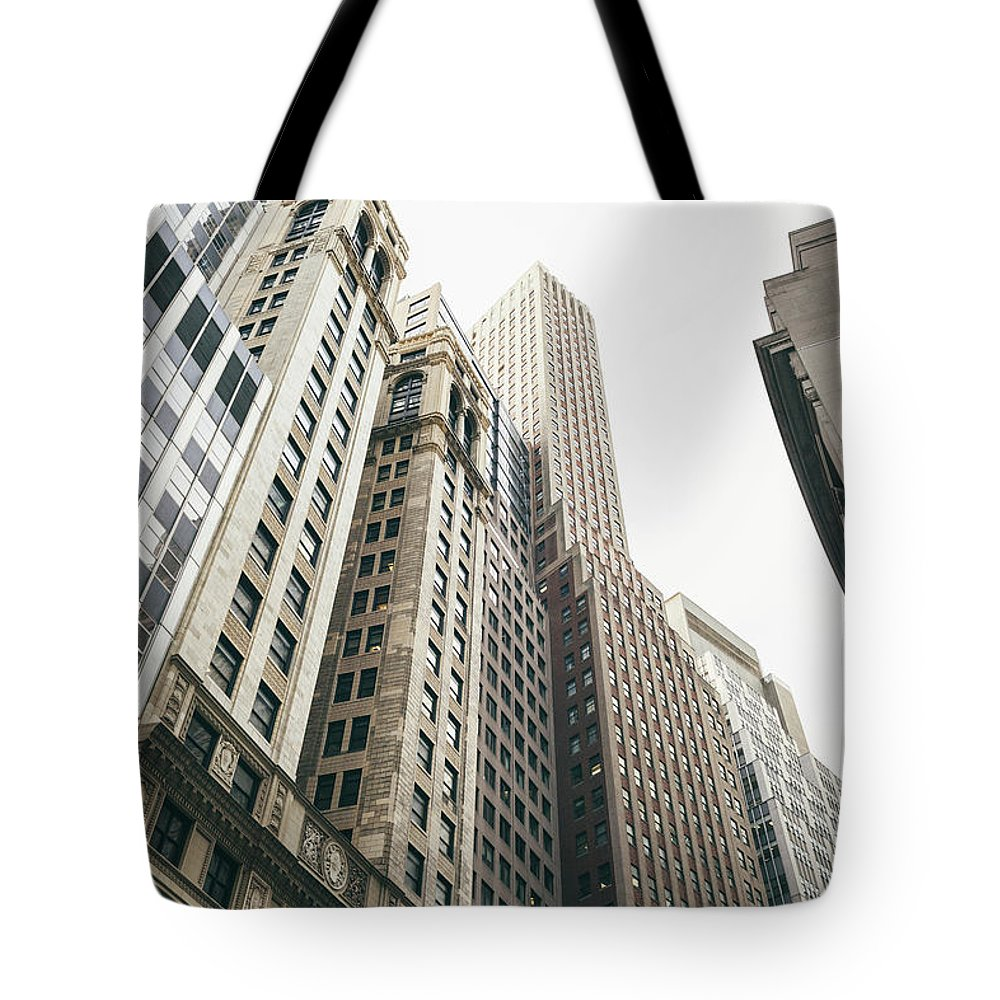 Tranquility Tote Bag featuring the photograph Financial District, New York City by Tuan Tran