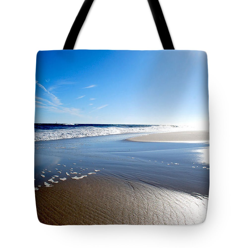 Becky Furgason Tote Bag featuring the photograph #nowivearrived by Becky Furgason