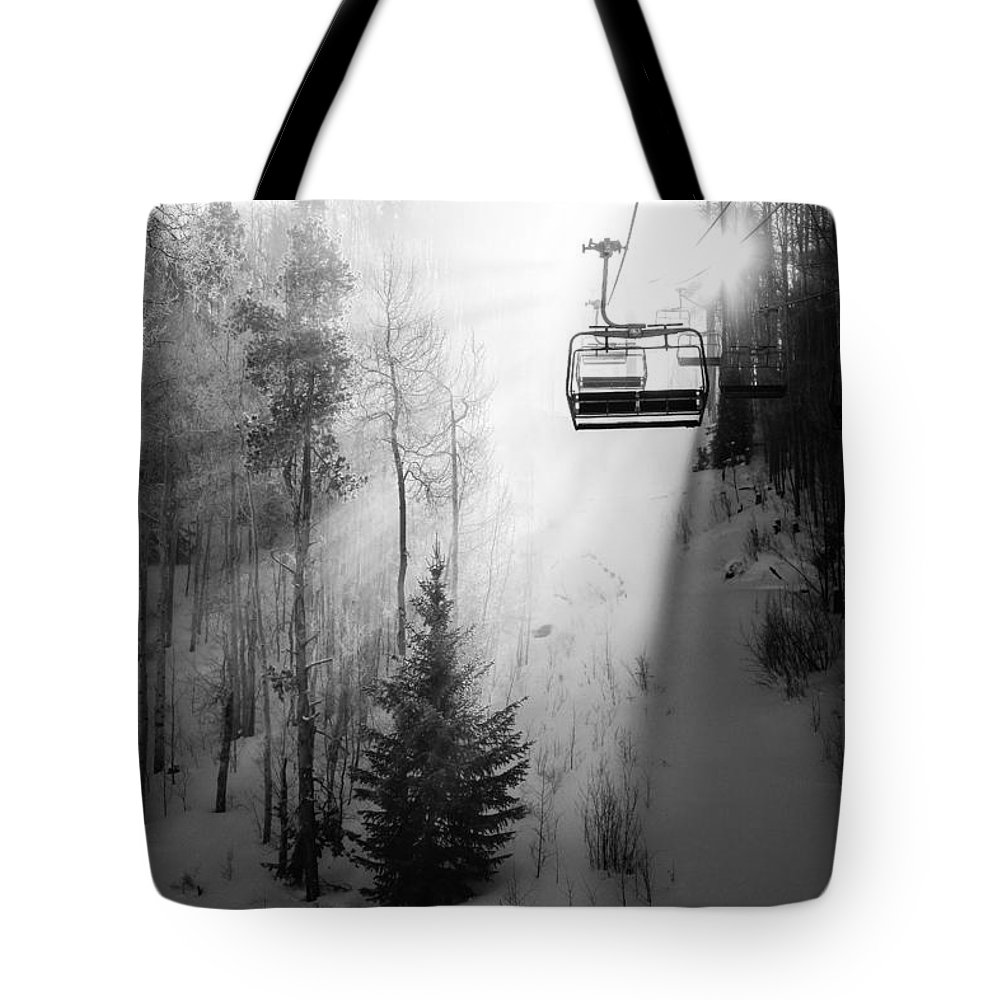 Winter Sports Photographs Tote Bags