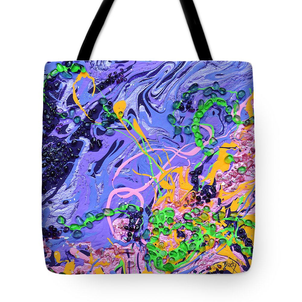 Love Tote Bag featuring the painting First Love by Donna Blackhall