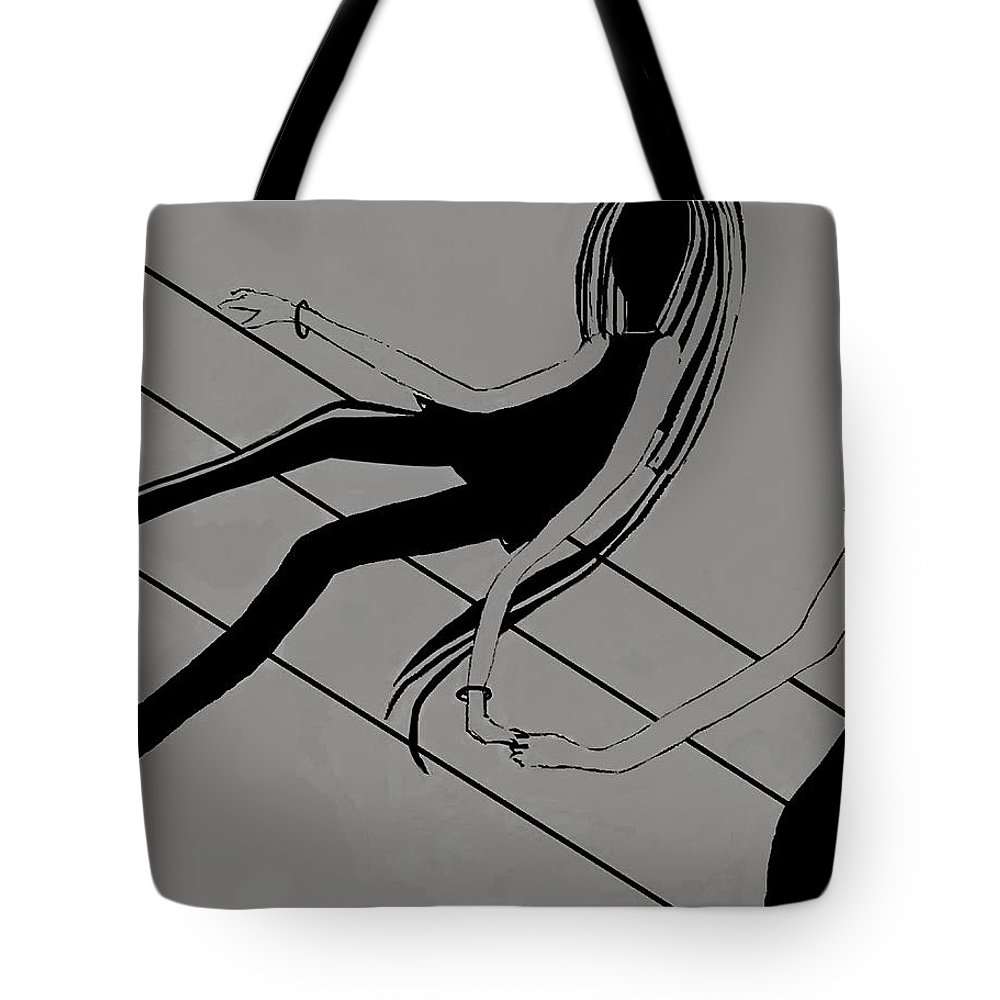 Fineartamerica.com Tote Bag featuring the painting First Love  Number 4 by Diane Strain