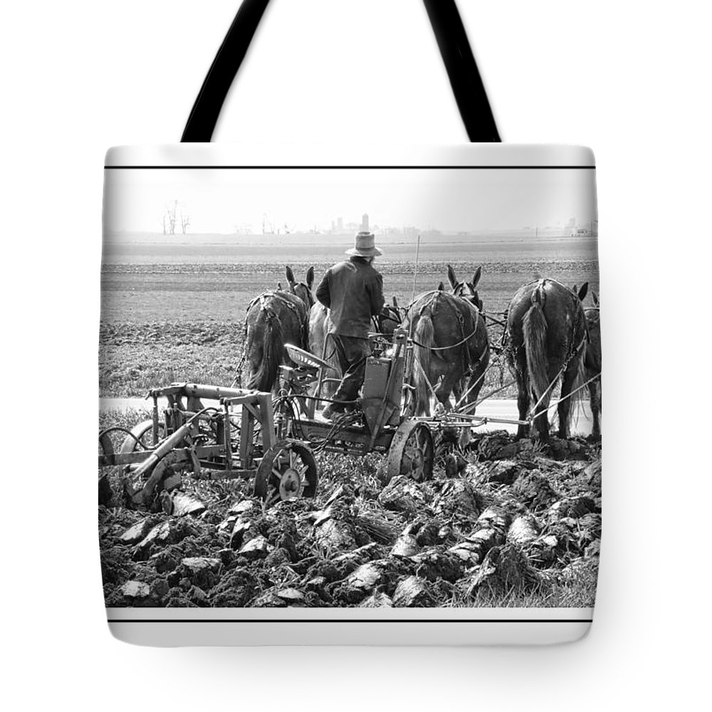 Lancaster Tote Bag featuring the photograph First Turn by Alice Gipson