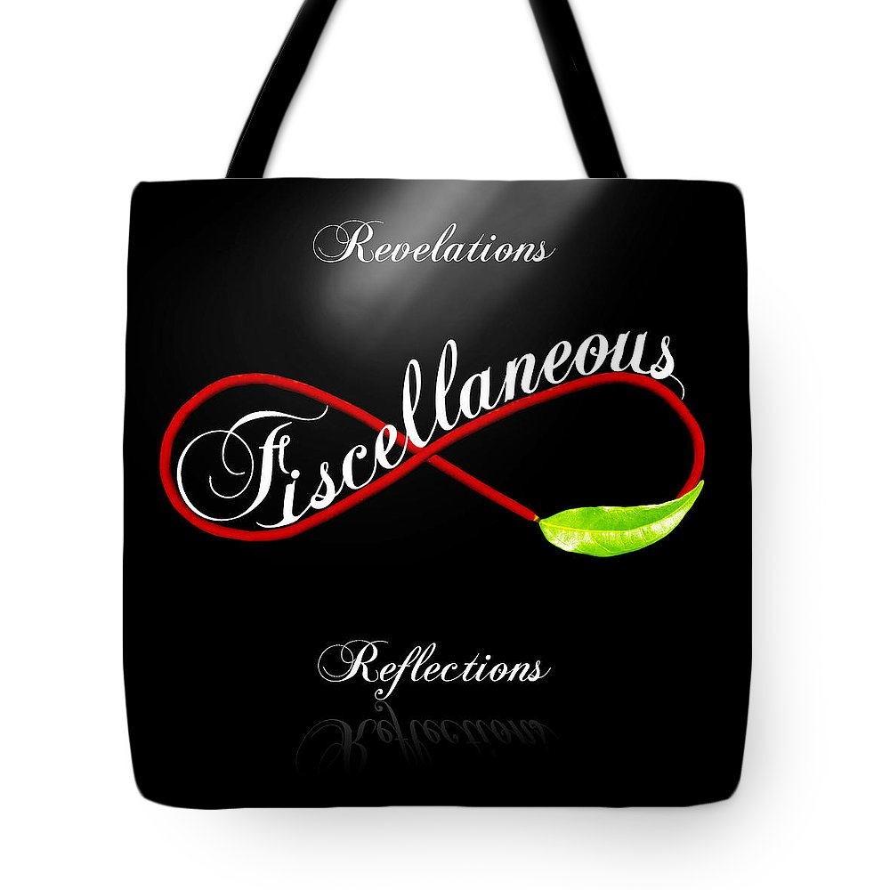 Fiscellaneous By Torie Tiffany Tote Bag featuring the digital art Fiscellaneous by Torie Tiffany