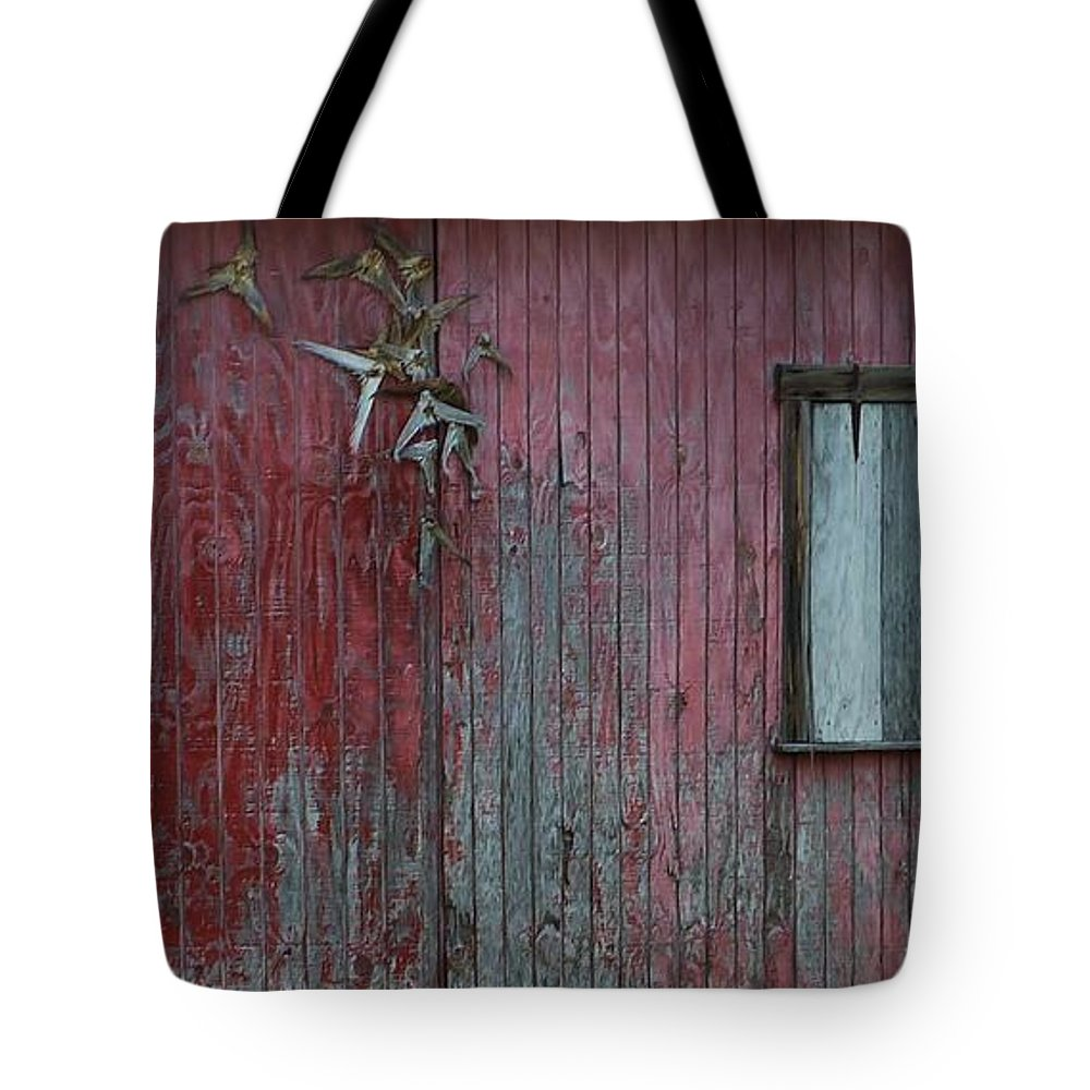 Color Tote Bag featuring the photograph Fish Shack by Amar Sheow