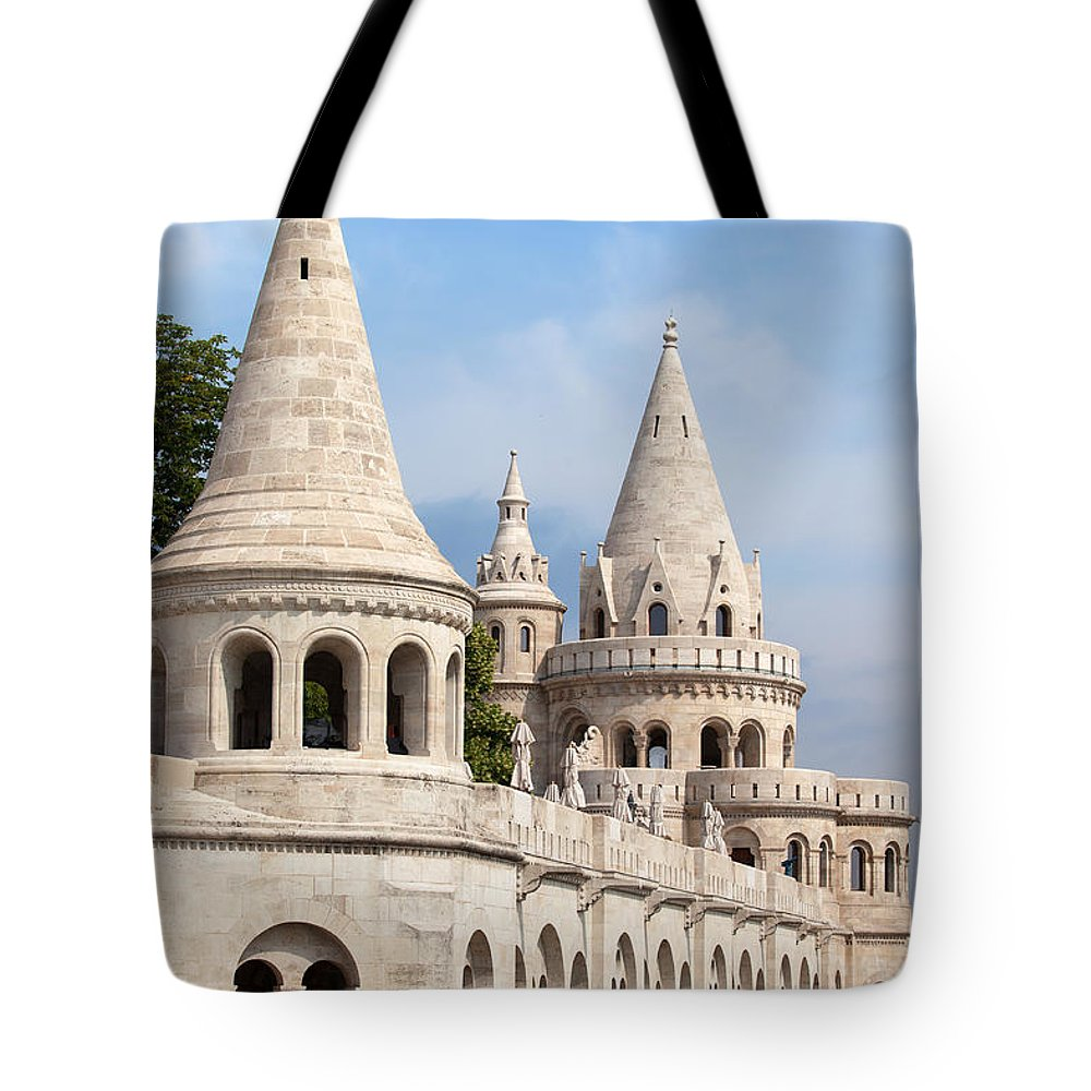 Fisherman Tote Bag featuring the photograph Fisherman Bastion In Budapest by Artur Bogacki