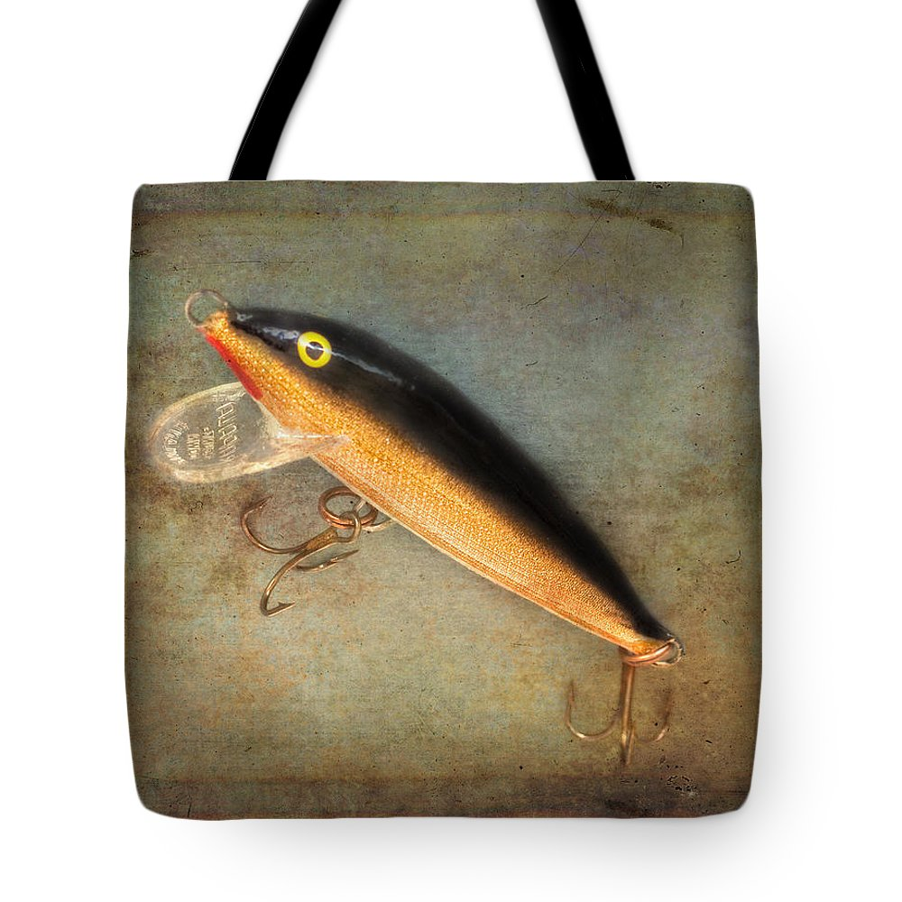 Close Up Tote Bag featuring the photograph Fishing Lure II by David and Carol Kelly