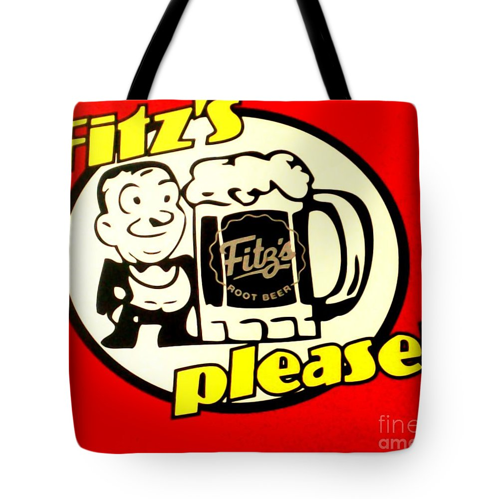 Tote Bag featuring the photograph Fitz's Please by Kelly Awad