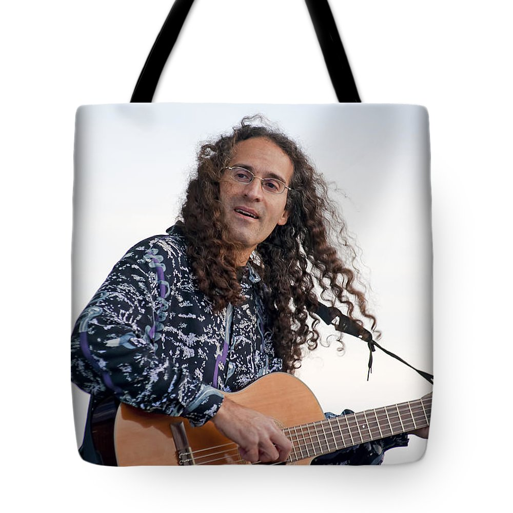Music Tote Bag featuring the photograph Flamenco Guitarist by Kenneth Albin