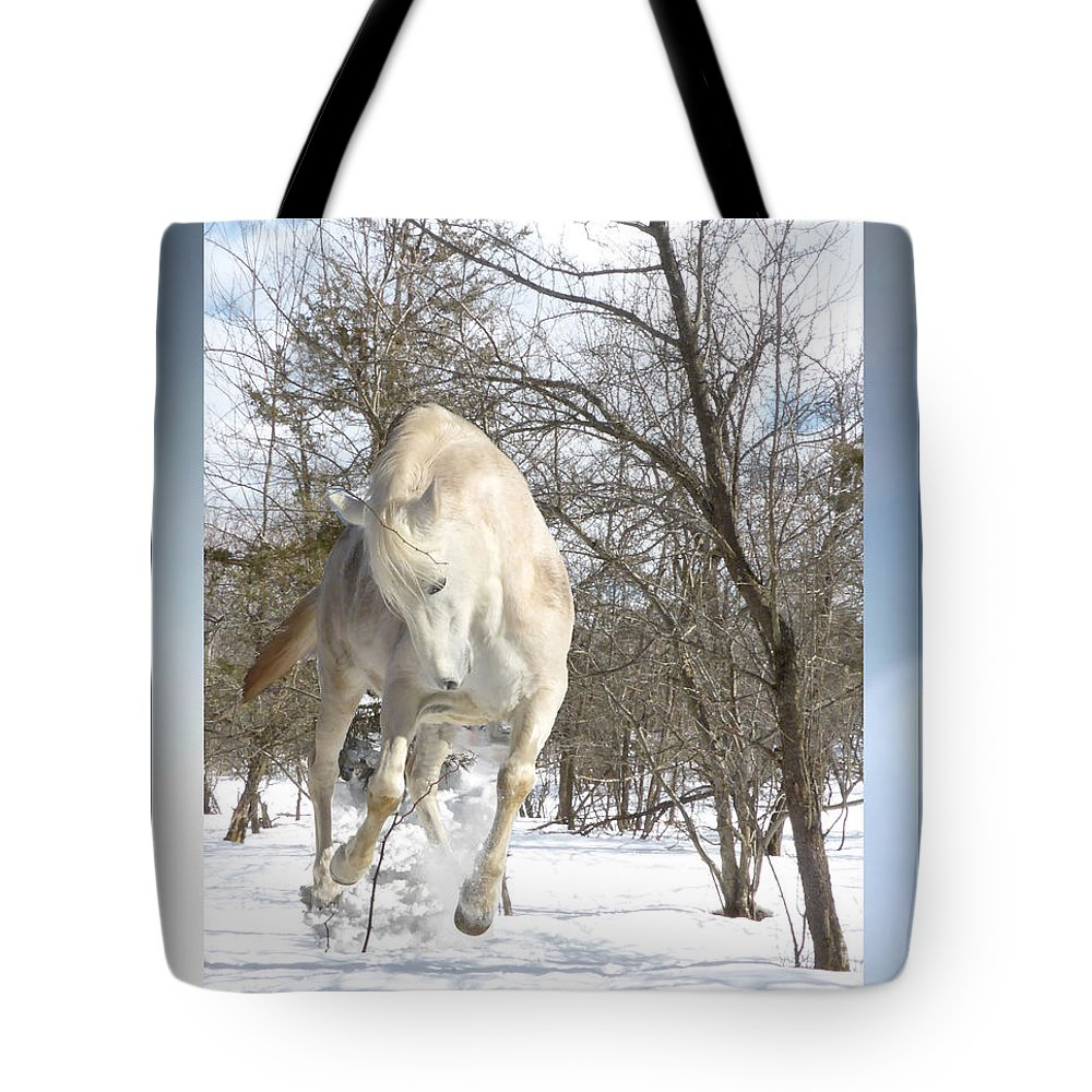 Winter Tote Bag featuring the photograph Flaming Enthusiasm by Patricia Keller